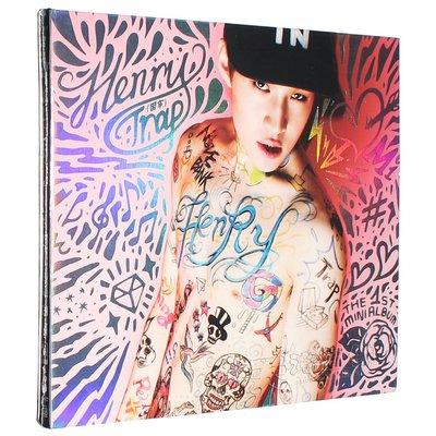 百惠雜貨店 Super Junior-M 劉憲華SOLO專輯  Henry Trap 困牢 CD+寫真歌詞本