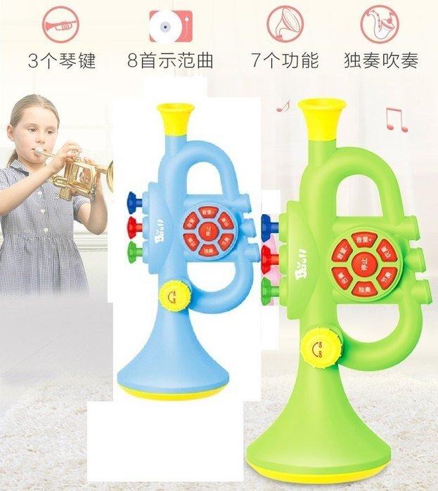 兒童吹奏玩具樂器小喇叭寶寶1-2-3周可以吹的音樂呐可吹☆百變花 yang☆