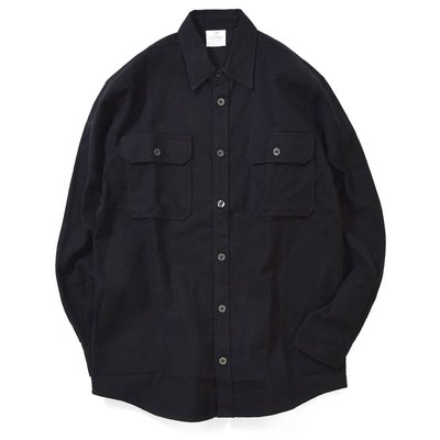 Rothco - Heavy Weight Solid Flannel Shirt 黑色 素面 法蘭絨 襯衫 現貨販售