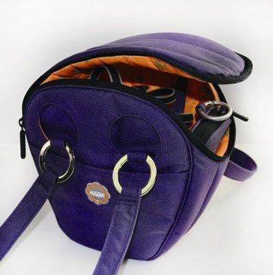 ☆昇廣☆【公司貨】HUGGER 1846 紫水桶~ Purple Tubby 女生專屬單眼背包  《滿額免運》