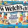 【MAXX美國代購】美國直郵 welchs果汁維生素軟糖 混合水果味兒童QQ糖 整盒90袋裝