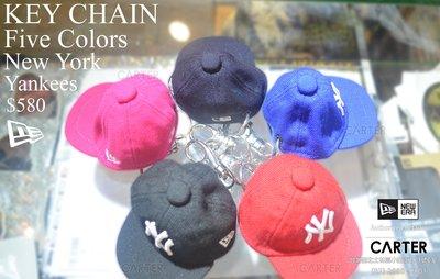 特價 New Era  美國大聯盟 MLB NY Yankees 紐約洋基隊鑰匙圈五色Key Chain