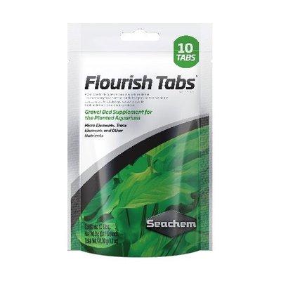 《魚趣館》美國 西肯 Seachen FLOURISH TABS 水草根肥錠 10tab