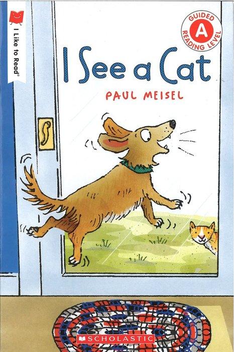 *小貝比的家*I SEE A CAT/平裝/3-6歲