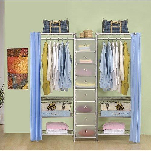 【中華批發網DIY家具】D-62C-01-W4型60+pp+W4型60衣櫥置物櫃-(前罩)不織布