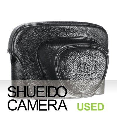 集英堂写真機【1個月保固】中古美品 / 稀少 ! LEICA 原廠 相機 皮套 / M2 M3 底片相機 用 17810