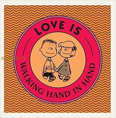 亚比@好物分享 現貨 Love Is Walking Hand in Hand