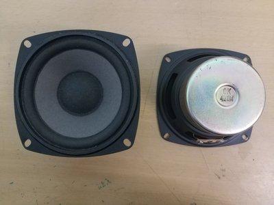 4吋中低音喇叭單體.清倉特價350