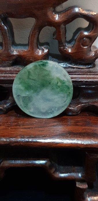 【玉拾緣】玻璃種翡翠玉錢圈