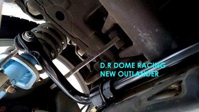 『通信販售』D.R DOME RACING NEW OUTLANDER 後防傾桿 22mm MITSUBISHI 2WD