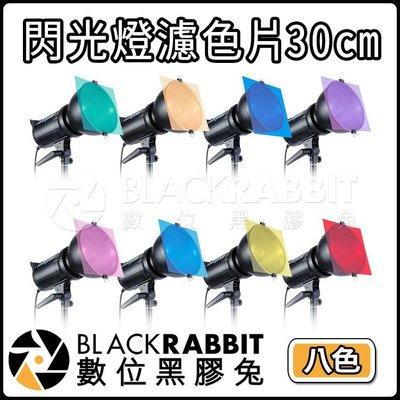 數位黑膠兔【 244 閃光燈 濾色片 30cm 8色入 】 濾色片 色卡 相機 濾鏡 LED 閃燈 攝影燈 閃光燈 配件
