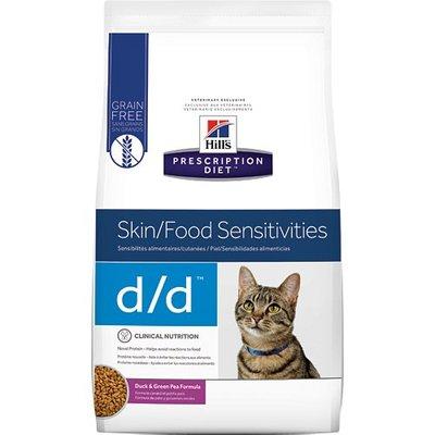 希爾思 希爾斯 Hills 貓用 處方飼料 d/d dd 鴨肉及豌豆 3.5磅  [5351]  現金專區