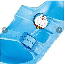 (現貨)16cm-21cm 均有 舒適拖鞋 家居鞋 沙灘鞋 Doraemon 叮噹 多啦A夢 日本直送 全新品