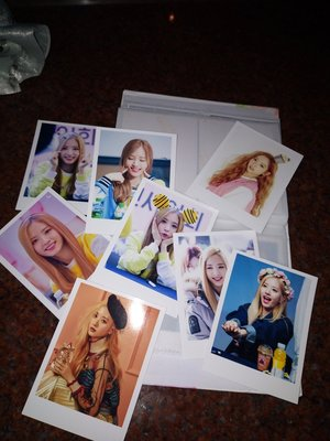 韓國少女組合 宇宙少女 wjsn 苞娜 每張3元 約30張   相片 卡 yes