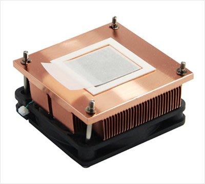 @智尼小鋪Sett PGA988\/989工控電腦CPU散熱器制冷片LED芯片紫銅散熱片風扇