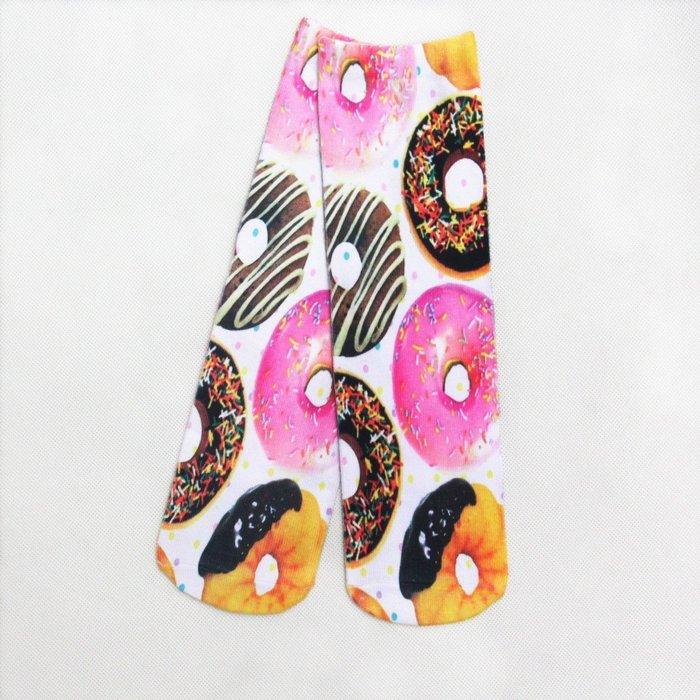 甜甜圈襪時尚風格高調炫麗