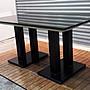 樂居二手家具 便宜2手傢俱拍賣 A0316DJJ 大理石餐桌 休閒桌*二手桌椅 辦公桌 電腦桌書桌 台北桃園台中
