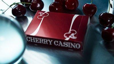【天天魔法】【S1024】正宗原廠~紅櫻桃榭撲克牌~Cherry Casino (Reno Red)