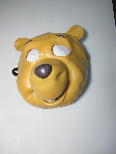 原版 維尼 造型 橡皮 面具 軟質 聖誕節 萬聖節 尾牙 派對必備 永和