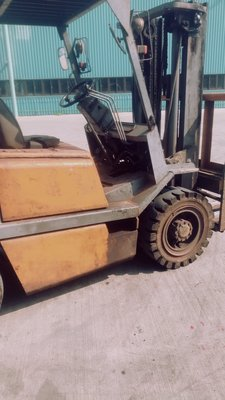 SUMITOMO 柴油堆高機 - 3.5噸-側移牙排-6尺牙叉-揚高3.0米-手排