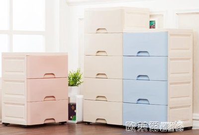 收納箱 加厚大號收納箱抽屜式塑料多層兒童玩具衣服整理櫃子儲物箱收納盒 MKS