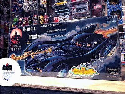 Artlife @ DC KENNER 1998 Batman Animated Batmobile 蝙蝠俠 經典蝙蝠車