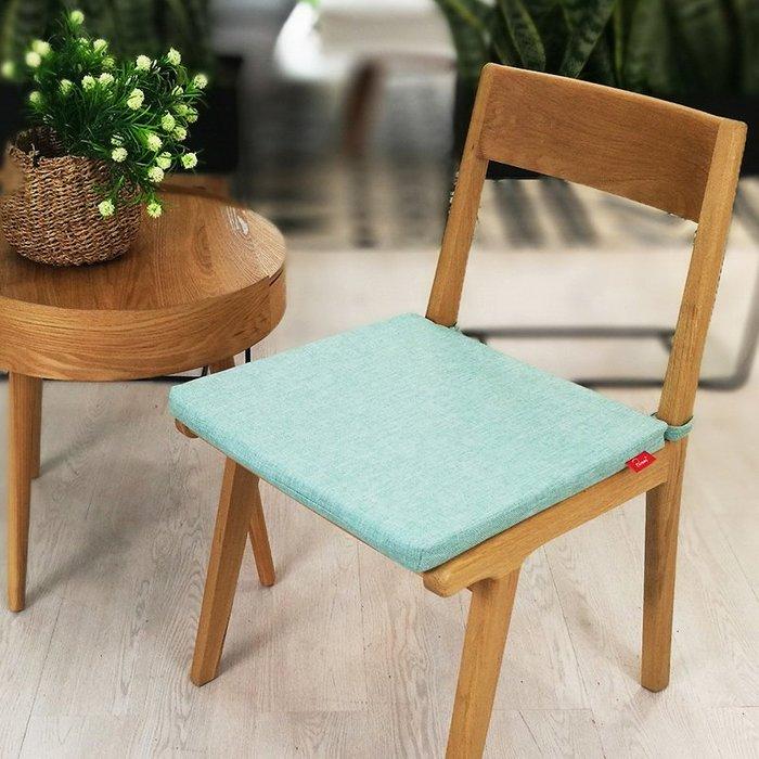 SX千貨鋪-北歐風棉麻防滑坐墊加厚現代簡約餐椅坐墊電腦椅座墊純色夏季