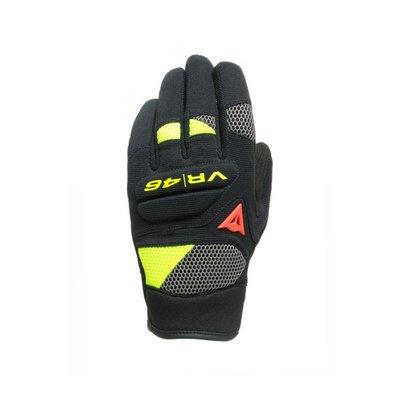Sarah~丹尼斯 VR46 CURB SHORT 羅西摩托車機車觸屏防摔透氣賽車短手套