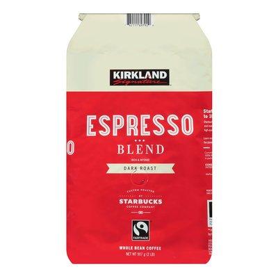 卓佑小舖♥KS 深焙咖啡豆 907公克 Kirkland Signature 科克蘭 深培咖啡豆