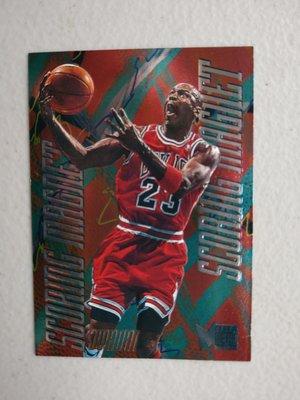 1995-96 Metal Scoring Magnets #4 Michael Jordan
