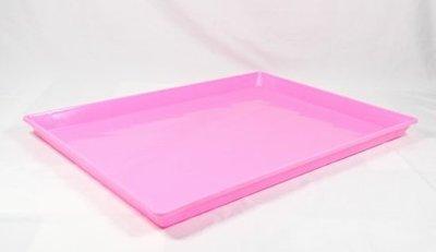 【優比寵物】2尺 / 2呎摺疊籠/折疊籠專用《粉紅色》塑膠底盤/便盆/尿盤/屎盤/便溺盤/便盤 特惠價