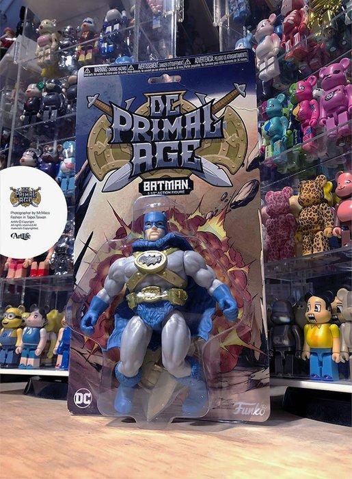 ArtLife @ FUNKO DC Primal Age S1 BATMAN 蝙蝠俠 可動公仔
