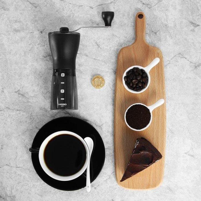 HARIO日本手搖便攜磨粉咖啡磨豆機陶瓷磨芯家用手動研磨咖啡豆MSS