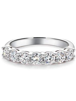 經典18K金1.05克拉鑽石排戒