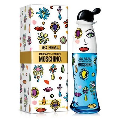 MOSCHINO SO REAL 奧莉薇 100ml