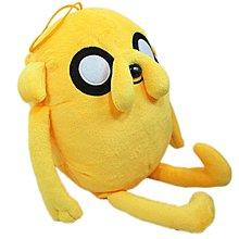 【卡漫迷】 老皮 玩偶 43 CM ㊣版 探險活寶 阿寶的好朋友 絨毛娃娃 Adventure Time 抱枕 靠枕 午休枕 圓形枕 附掛繩