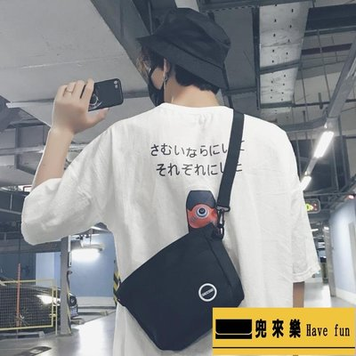 包包日系男生斜背包/側背包潮流正韓新款...