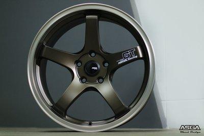 新款 ASGA A03 輕量化鋁圈 18吋 5X100 5X114 5X108 古銅 亮金 亮灰 亮黑 ADVAN 新北市