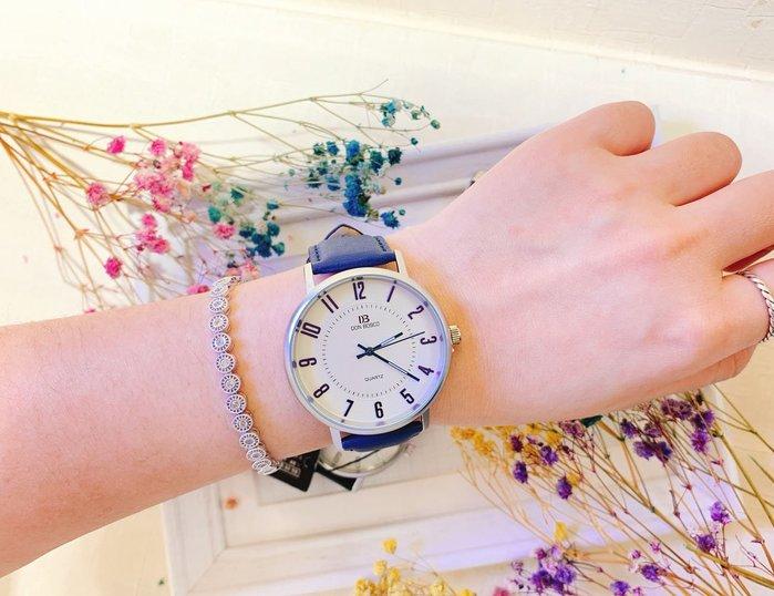 韓國❤️DON BOSCO 反璞歸真 數字款 金屬框 皮質 造型錶 手錶【Verina's韓系美飾】