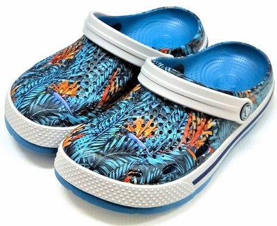 【菲瑪】COQUI 花園鞋 懶人鞋 布希鞋 軟Q無毒無味超輕止滑 花彩6405
