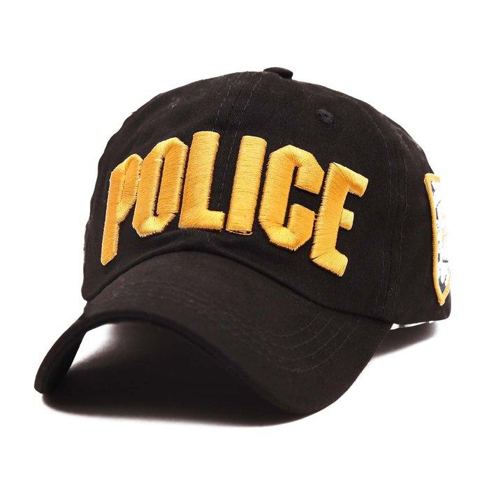 FIND 韓國品牌棒球帽 男女情侶 時尚街頭潮流 警察字母刺繡 帽子 太陽帽 鴨舌帽 棒球帽