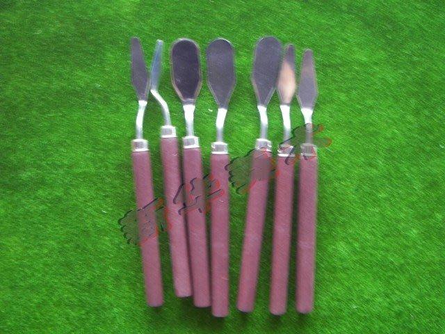 聚吉小屋 #小號調色刀 繪畫調色刀 顏料調色刀 刮刀 油畫刀 調色鏟