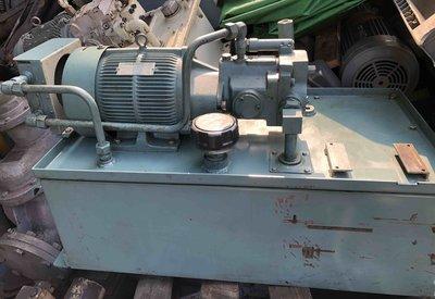 日本大金高壓幫浦 DAIKIN PISTON PUMP V23型 油壓機 5HP 440V 電動油壓幫浦