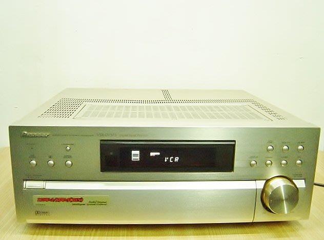 保固3個月【小劉2手家電】聲音讚的PIONEER 擴大機,VSX-D737S型,壞機可修理/回收!