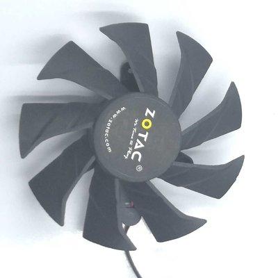 顯卡風扇Nvidia GeForce GTX 1050 Ti ( 4 GB / 索泰 顯卡散熱風扇2.0接口