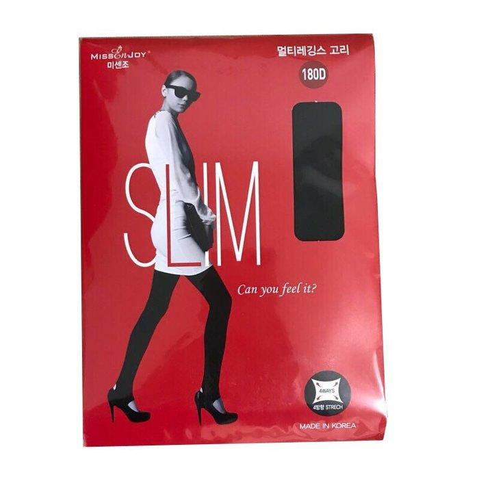 【24小時急速出貨】韓國 SLIM 180D 褲襪 踏腳款 FREE Sizs(現貨)