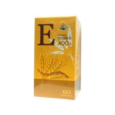 【康熙藥妝】【復麗康 維生素E 400I.U.(60粒/盒)】