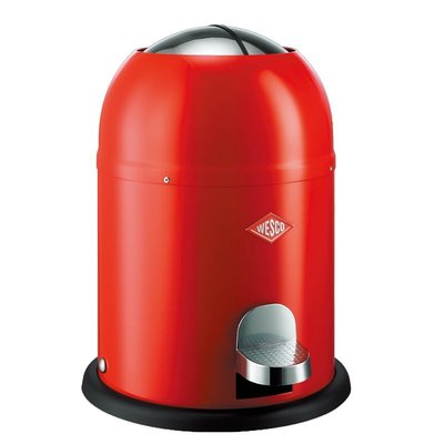 WESCO 騎士桶-9L 垃圾桶 收納 飯店 商用 營業用     紅/白/黑/粉紅/杏   五色可供選擇