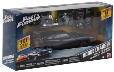 MATTEL Fast & Furious 玩命關頭Customizers車輛組裝套組Dodge Charger
