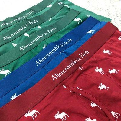 Maple麋鹿小舖 Abercrombie&Fitch*AF  男生合身四角內褲 * ( 現貨XL號 )